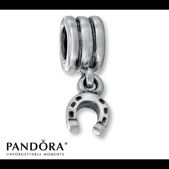 73eaaa607 Pandora Jewelry | Horseshoe Charm | Poshmark